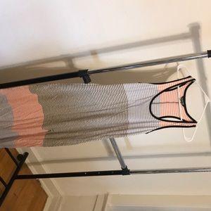 Express summer striped cotton dress